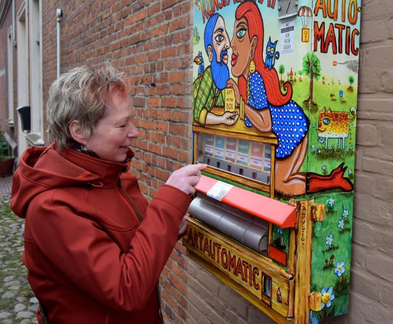 Kunstautomat Lade Wählen